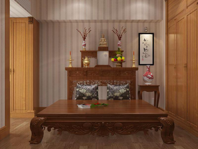 Lưu Ý Phong Thủy Khi Đặt Bàn Thờ Trong Phòng Khách